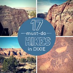 17 hikes in Dixie by utahdixiedeals.com  These are hike in southern Utah !