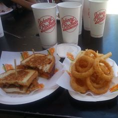 Photo Credit: @lucyngooyen via Instagram #JohnnyRockets #BYOB #hamburgers #AllAmerican #lunch #dinner #eat #customhamburgers #shakes #fries #onionrings #desserts #sandwich #burgers