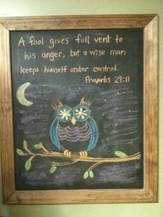 owl bible verse | Bible verse owl | Things for My Wall