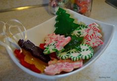 Crazy Clever Candy Christmas Ornaments