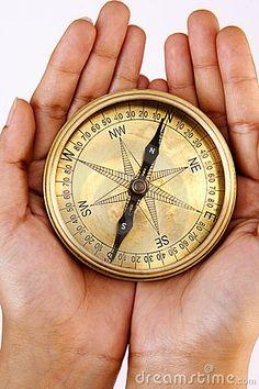 Antique Compass by Snowwhiteimages, via Dreamstime
