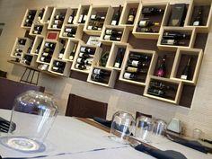 Arredamento enoteca ~ Portabottiglie vino design moderno esigo per arredamento