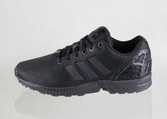 adidas Originals ZX FLUX Mesh - Black   Black - Chalk 8293af912e0