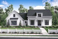 Farmhouse Style House Plan - 3 Beds 2 Baths 2077 Sq/Ft Plan #430-164 Exterior - Front Elevation - Houseplans.com