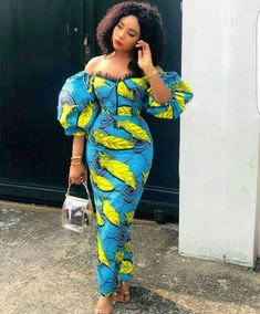 african print dresses This beautiful African print garment is suitable for different occasions. I will carefully sew it for you with high quality fabric print of your choice and Best African Dresses, African Inspired Fashion, Latest African Fashion Dresses, African Print Fashion, African Attire, Ankara Fashion, African Style Clothing, Modern African Fashion, Modern African Print Dresses