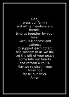 Say a prayer for family Prayer Times, Prayer Scriptures, Faith Prayer, Prayer Quotes, My Prayer, Bible Verses, Food Prayer, Robert Kiyosaki, Tony Robbins