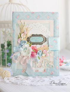 "Diary Sreet: Блокнот ""Blue tenderness"""
