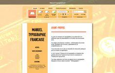 Manuel Typo : point, à la ligne ! - Décembre 2011