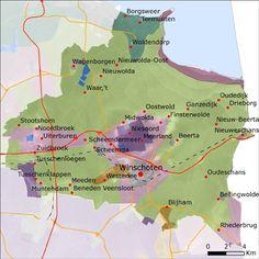 Landschaps Geschiedenis Figure It Out, Holland, Maps, Gem, History, Ideas, The Nederlands, Historia, Blue Prints