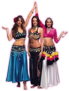 Beautiful Belly Dance Tribal Costumes