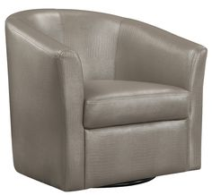 Shop a great selection of Coaster Faux Leather Upholstered Swivel Accent Chair, Champagne. Find new offer and Similar products for Coaster Faux Leather Upholstered Swivel Accent Chair, Champagne. Swivel Barrel Chair, Swivel Glider, Swivel Armchair, Upholstered Chairs, Glider Chair, Accent Furniture, Living Room Furniture, Furniture Styles, Champagne Living Room
