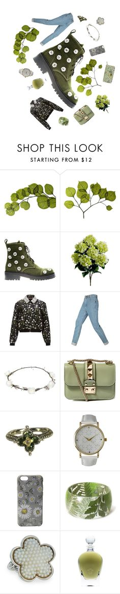 """A Walk Through the Woods"" by giribubbles ❤ liked on Polyvore featuring Dot & Bo, Anouki, Giambattista Valli, Lipsy, Valentino, Barbara Bixby, Olivia Pratt, Marc Jacobs, Lagos and EB Florals"