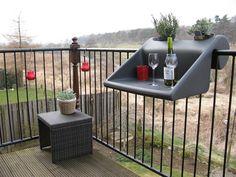 balKonzept - balcony table /planter combo. Balconcept