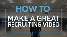 Jessica Hohl, Event Marketing Coordinator at Rox Volleyball, explains how to make a great recruiting video. As a former college recruiting coordinator, Jessi. College Success, College Hacks, College Recruiting, Coach K, Volleyball Shirts, College Application, Event Marketing, College Basketball, How To Plan