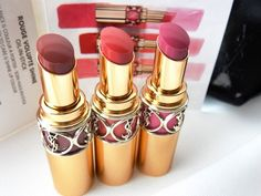 YSL Rouge Volupte Shine Oil in Stick Lipstick Swatches & Review