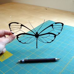 Beautiful paper cut out.
