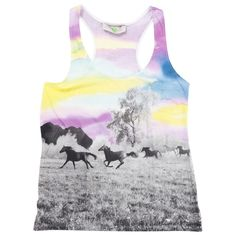 Stella McCartney Multicolour Cotton Top. Horse print is always a do!