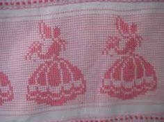 bordado vagonite oitinho - Pesquisa Google Cross Stitch Embroidery, Cross Stitch Patterns, Swedish Embroidery, Monks Cloth, Swedish Weaving, Chicken Scratch, Point Lace, Huck Towels, Filet Crochet
