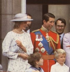 Princess Diana at Trooping the Colour, June 1983