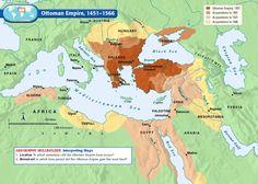 map of ottoman empire 1900 - Google Search