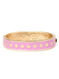 Pink Polka Cuff (Pre-Order: 3 weeks)