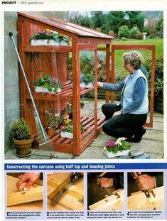 Mini Greenhouse Plans - Outdoor Plans