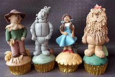 Wizard of Oz cupcakes!