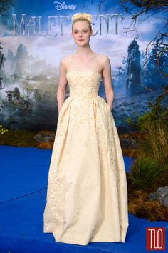 Elle Fanning wearing Georges Hobeika Fall 2013 Couture Collection