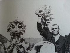 Ofrenda de ramos, source: Museu del Pueblu d'Asturies, Gijon, Asturias . Spain.