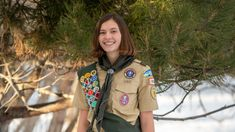 Nearly 1,000 young women make up the groundbreaking new class from the BSA. Young Female, Young Women, Cub Scouts, Girl Scouts, Girl Scout Gold Award, Kendall Jackson, Scouts Of America, Neil Armstrong, Eagle Scout