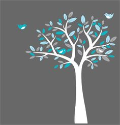 Tree Decal Wall Decals Nursery StickersChildren by NurseryWallArt, $89.99
