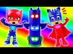 Fun PJ Masks toy video for PJ Masks kids colors learning with PJ Masks Headquarter HQ Plays. Floating Tv Unit, Birthday Invitations, Birthday Cake, Frozen Dolls, Felt Flower Tutorial, Disney Surprise, Teaching Colors, Pj Mask, Disney Junior