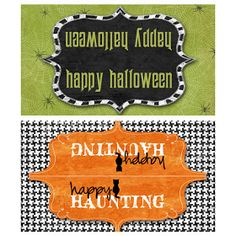 i should be mopping the floor: Friday's Freebie: Halloween Treat Bag Toppers