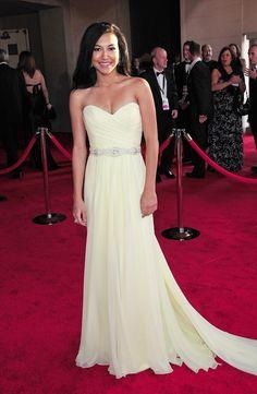 Naya in this dress.... Pretty