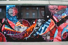 Tristan Eaton, How & Nosm, and Cyrcle Collaborate on New Walls in Brooklyn | Hi-Fructose Magazine