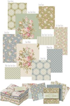 'Happiness-is-Homemade' Tilda fabric collection