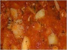 baccala con patate