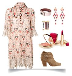 """""""Country picnic"""" by izzystarsparkle ❤ liked on Polyvore featuring See by Chloé, Givenchy, Napoleon Perdis, Tamara Comolli, Dolce&Gabbana and country"""