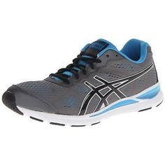Asics Men's Gel-Storm 2 Shoes Granite/Black/Malibu Size 10.5