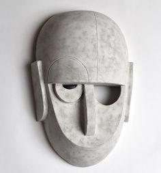 Eric Roinestad's Stunning Bauhaus Ceramics Masks – Trendland Online Magazine Curating the Web since 2006 Bauhaus Art, Bauhaus Design, Bauhaus Style, Anatomy Sculpture, Sculpture Art, Sculpture Portrait, Masks Art, Clay Masks, Ceramic Mask