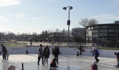 Ice Skating On The Bay: Greenport Ice Rink