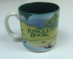 Disney The Jungle Book Coffee Tea Ceramic Mug Cup Collectible