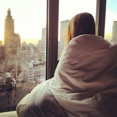 .@Carolina Engman | Watching the sun rise over New York, magical! | Webstagram - the best Instagram viewer
