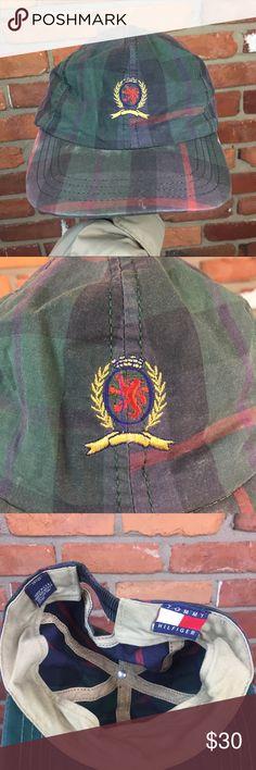 Vintage 90s Tommy Hilfiger crest hat rare Vtg Tommy Hilfiger Accessories Hats