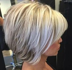 29 Inverted Bob Haircuts and Hairstyle Ideas #hairideas #bobhaircut Bob Hairstyles For Round Face, Inverted Bob Hairstyles, Short Hairstyles For Women, Hairstyles Haircuts, Party Hairstyles, Wedding Hairstyles, Medium Hair Cuts, Short Hair Cuts, Medium Hair Styles
