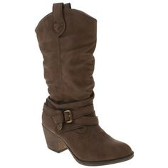 Rocket Dog Brown Sidestep Ii Boots.... ooh! I have the ankle version of these - super comfy!!