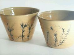 delicate flower pots