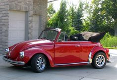 1971 Super Beetle Convertible, Red with Red/Black Interior, everything new, pan-off restoration, new floor pan and gas tank. Heater delete.  The car is located in Rogers, Minnesota, close to Mineapolis. Asking for $10,000 USD
