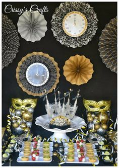 Crissy's Crafts: New Years Eve Party Ideas