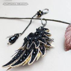 Soutache Pendant, Soutache Earrings, Pendant Necklace, Shibori, Design Inspiration, Pendants, Brooch, Jewelry, Fashion